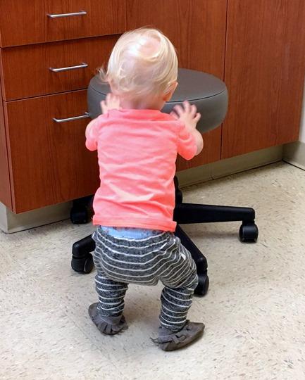 Toddler Spinning Stool