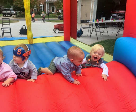 bounce house for babies