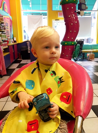 Chase First Haircut