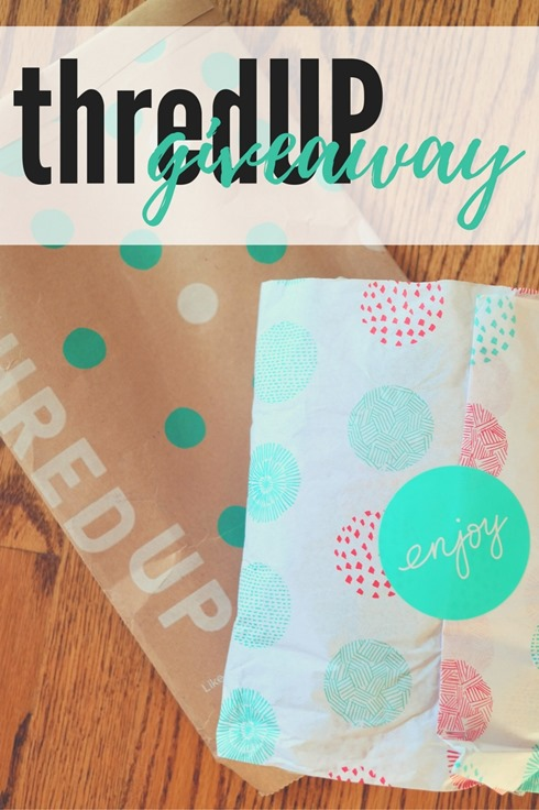 thredUP coupon code and giveaway