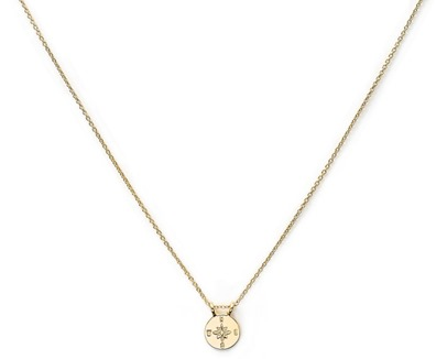 Brave Collection Compass Necklace