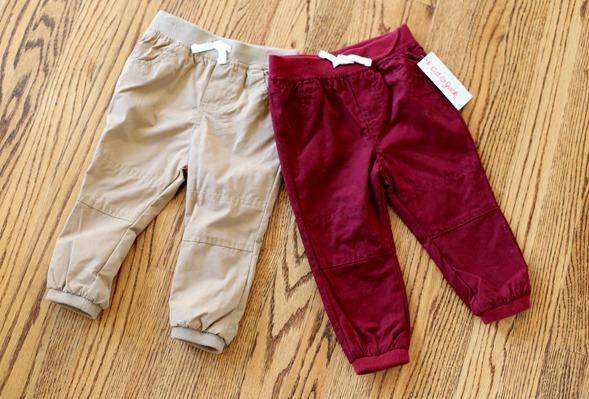 Cat & Jack Maroon Pants Target