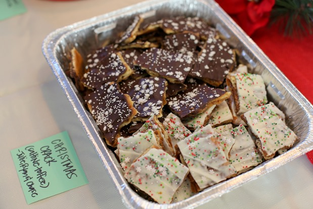 Christmas Crack Toffee