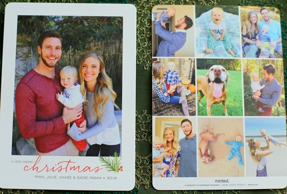 Minted Christmas Cards 2016