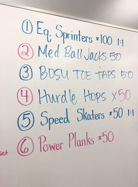 Athletic Conditioning Workout Burn Boot Camp