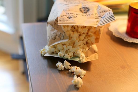 Newman's Own Butter popcorn