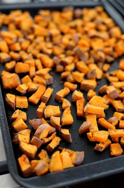 Roasted Sweet Potatoes Easy