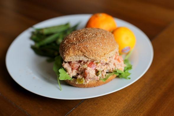 Tuna Salad Sandwich Lunch