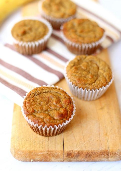 Paleo Blender Muffins (Gluten-Free, Dairy-Free)
