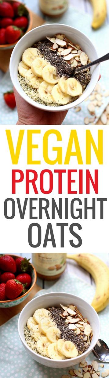 Protein Vegan Overnight Oats