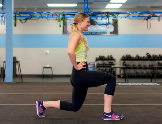 Alternating Lunges Exercise