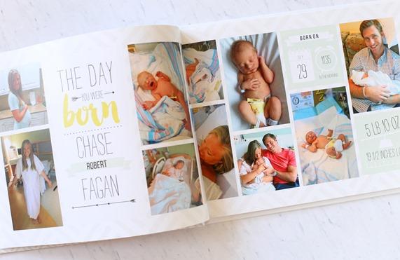 Baby Photo Book Mixbook