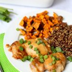 Easy Baked Miso Chicken Thighs