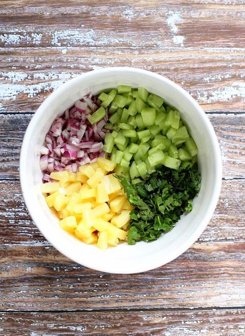Cold Quinoa Salad Ingredients