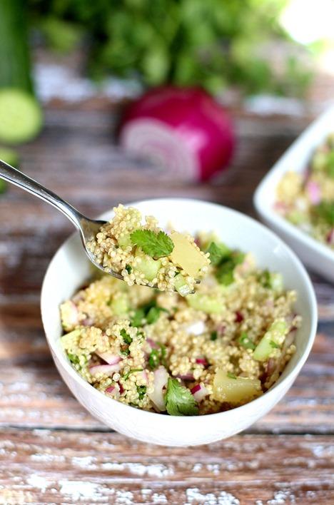 Easy Cold Quinoa Salad