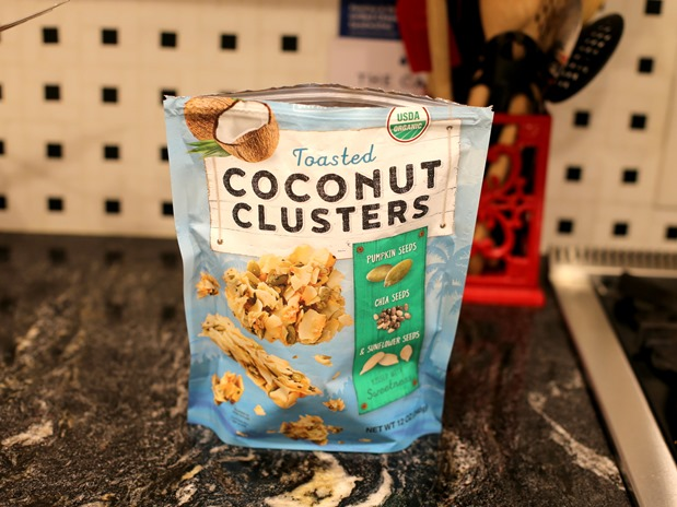 Toasted Coconut Clusters
