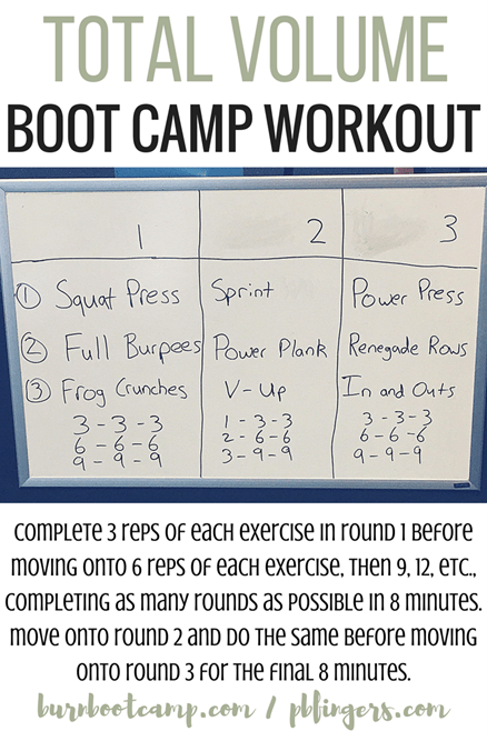 Burn Boot Camp Workout At Home Workout
