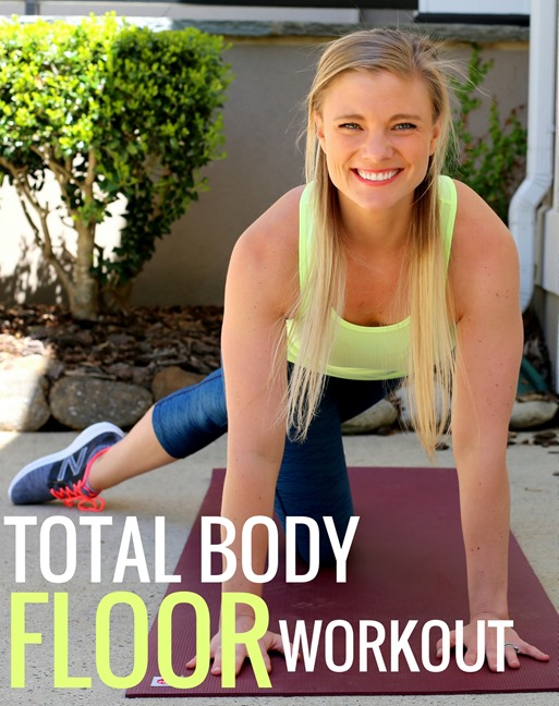 FLOOR WORKOUT TOTAL BODY