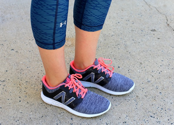 New Balance Pink Gray Sneakers