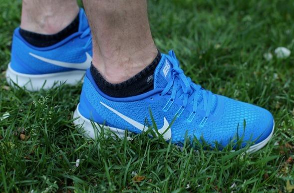Nike Flyknit Free RN Blue Men