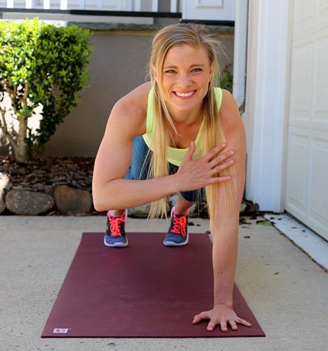 Plank Shoulder Taps Exercise