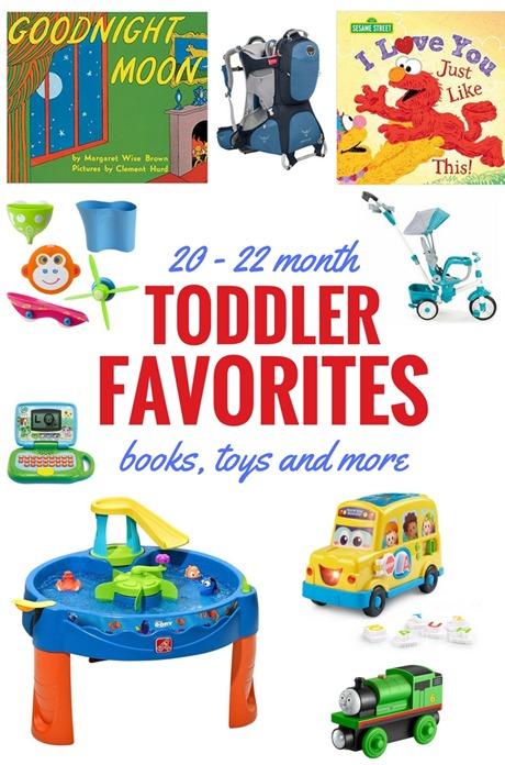 20 - 22 Month Toddler Favorites