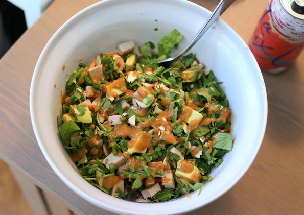 Chopped Asian Salad Healthy