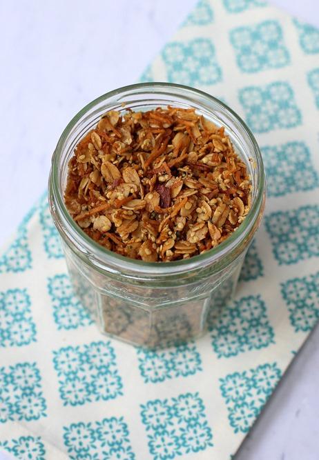 Coconut Hemp Seed Granola