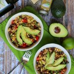 Black Bean Brown Rice Salad