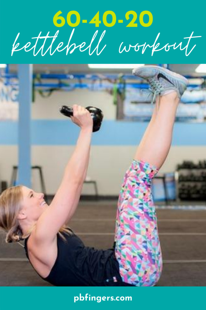 60-40-20 Kettlebell Workout