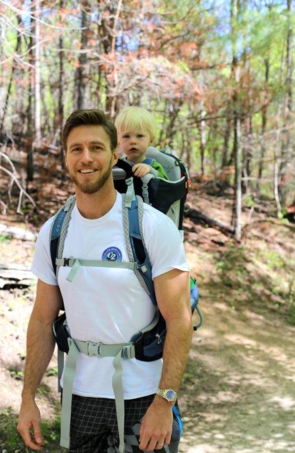 Ryan Chase Hiking 21 months