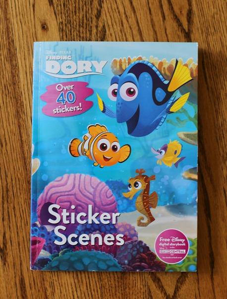 Dory Sticker Book