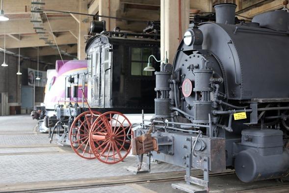 NC Transportation Museum Trains