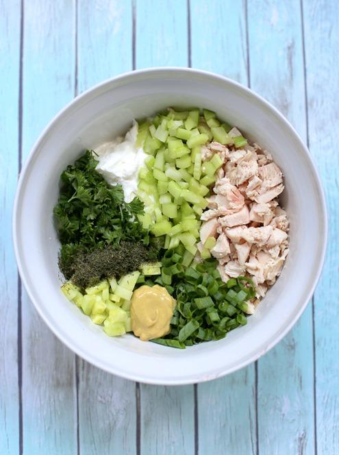 Cucumber Dill Greek Yogurt Rotisserie Chicken Salad
