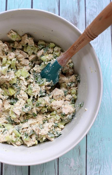 Easy Greek Yogurt Rotisserie Chicken Salad