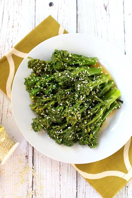 Ginger Sesame Broccolini