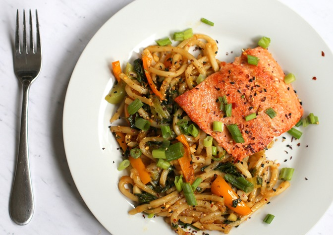 Salmon Stir Fry Blue Apron