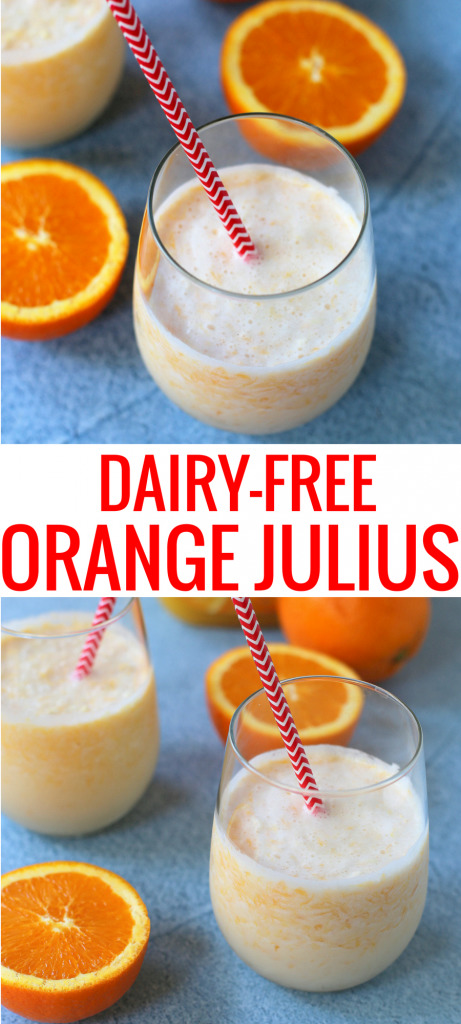 Dairy Free Orange Julius