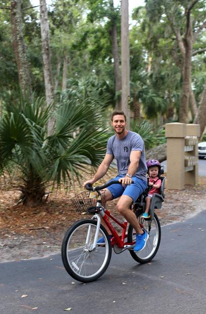 Hilton Head Biking Toddler