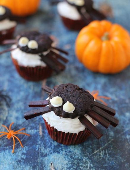 Spider Cupcakes Halloween