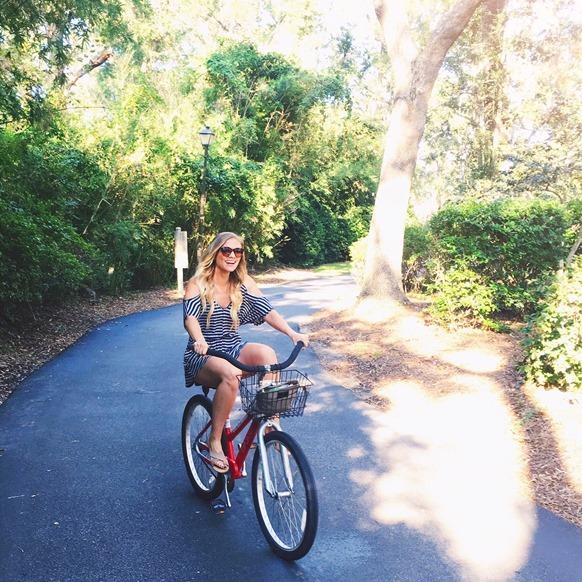 julie fagan hilton head biking