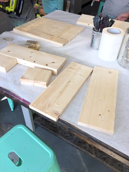 AR Workshop Wood Boards