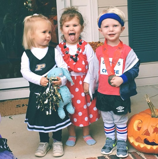Chase Lilly Claire Halloween