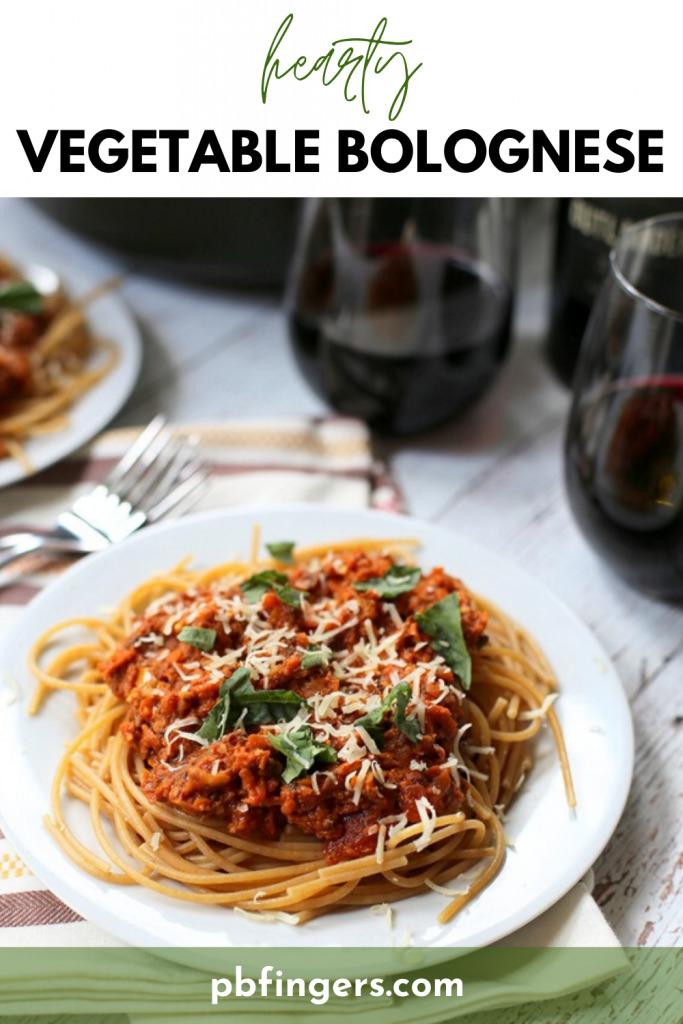 Hearty Vegetable Bolognese