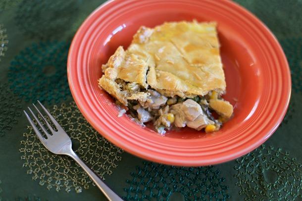 healthy turkey pot pie