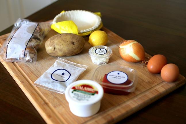Blue Apron Quiche Recipe Ingredients