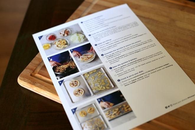 Blue Apron Quiche Recipe