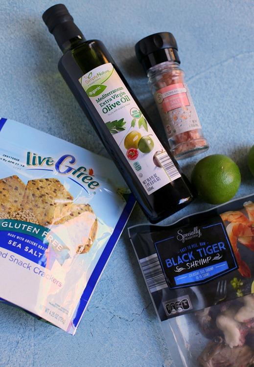 Cilantro Shrimp Appetizer Ingredients