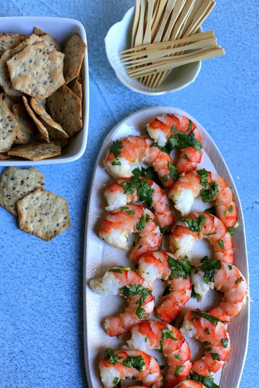 Cilantro Shrimp Appetizer Recipe
