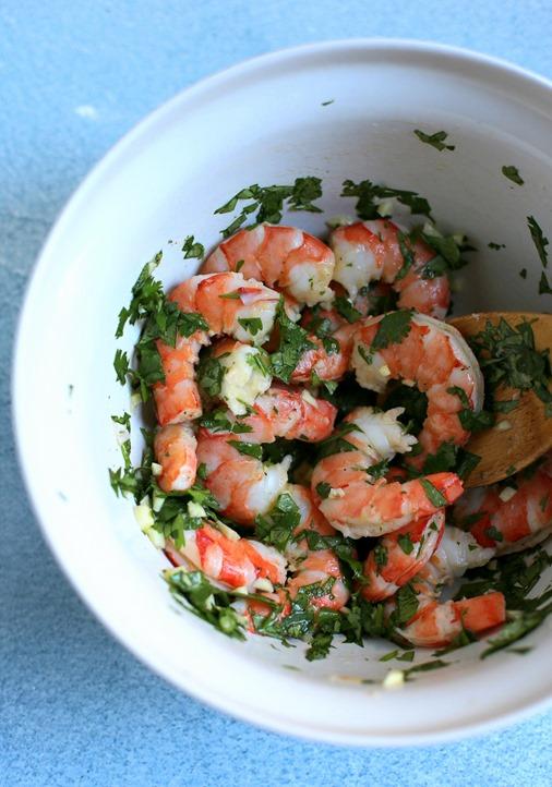Cilantro Shrimp Appetizer